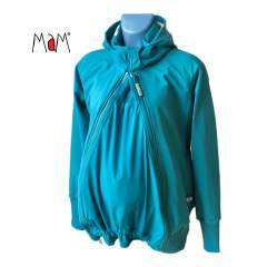 MaM SoftShell Babywearing Jacket, Ocean Waters