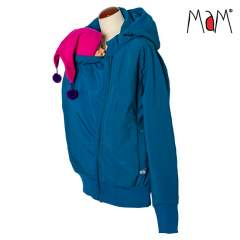MaM SoftShell Babywearing Jacket, Mykonos Waters