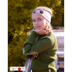 MaM/ManyMonths Natural Woollies Adjustable Head Wrap/Ear Warmer