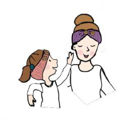 MaM/ManyMonths Natural Woollies Adjustable Head Wrap/Ear Warmer
