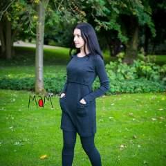 MaM Natural Woollies MotherHood Tunic, Foggy Black