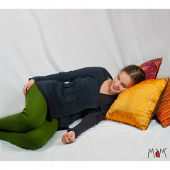 MaM Natural Woollies Wrap Cardigan