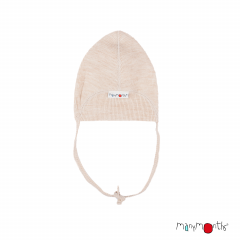 ManyMonths Natural Woollies Baby Cap, Toasted Coconut