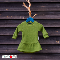 ManyMonths Natural Woollies Long Sleeve Ruffle Hem Tunic UNiQUE