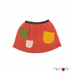 ManyMonths Natural Woollies Treasure Pockets Skirt UNiQUE