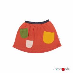 ManyMonths Natural Woollies Treasure Pockets Skirt UNiQUE