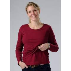 Carriwell Jenna Nursing Shirt Long Sleeve