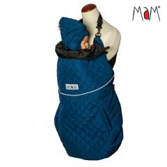 MaM Exclusive Quilted Winter Flex Babywearing Cover, Poseidon