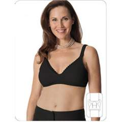 Glamourmom Mpress™ Lace Microfiber-Cotton Padded Nursing Bra