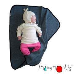 ManyMonths Natural Woollies Junior Shirt Long Sleeve