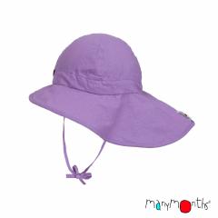 ManyMonths ECO Hempies Adjustable Summer Hat Light, Adventurer/Conqueror, Sheer Violet