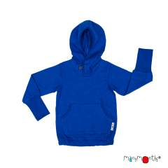 ManyMonths ECO Hempies Hooded Kangaroo Top, Adventurer, Atlantic Blue