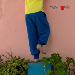 ManyMonths ECO Hempies Slouchy Trousers, Conqueror, Atlantic Blue