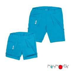 ManyMonths ECO Hempies Unisex Summer Shorts, Conqueror/Innovator, Aquarius