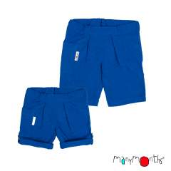 ManyMonths ECO Hempies Unisex Summer Shorts, Conqueror/Innovator, Atlantic Blue