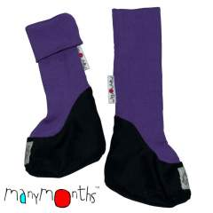 ManyMonths Natural Woollies Long Rib Booties